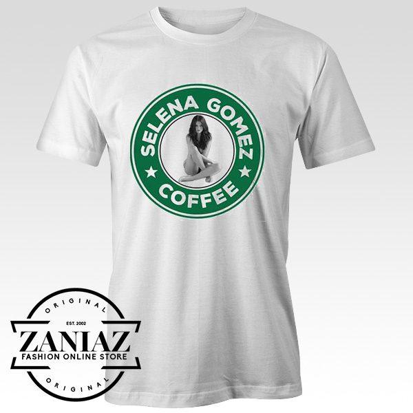 Selena Gomez Starsbuck Coffee T shirt Adult Unisex