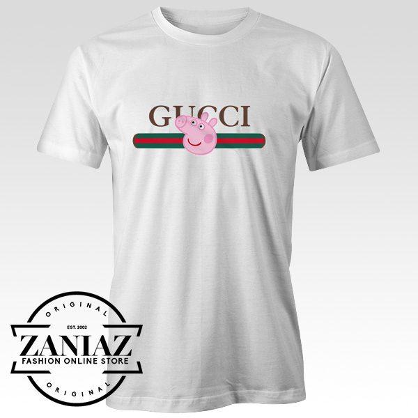 145674cf4c21 The Best Cheap Trendy Gucci Peppa Pig Pecs Tshirt - Cheap Kids Clothes