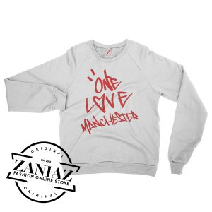 Ariana Grande One Love Manchester Sweatshirt Crewneck Size S-3XL