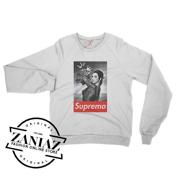 Camiseta LOLA SUPREMO Supreme Sweatshirt Crewneck Size S-3XL