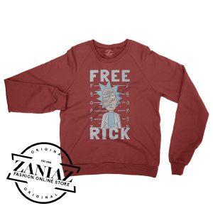 Cheap Rick And-Morty Gift Free Rick Sweatshirt Crewneck Size S-3XL