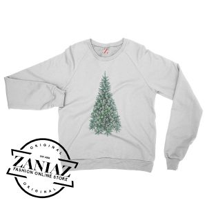 Christmas Tree Cheap Gift Sweatshirt Unisex Crewneck Size S-3XL