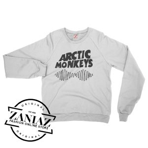 English Rock Band Arctic Monkeys Basic Logo Sweatshirt Crewneck