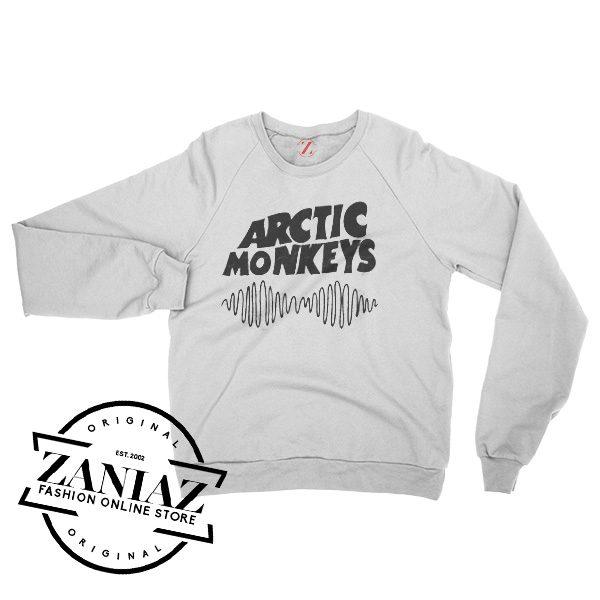 English Rock Band Arctic Monkeys Basic Logo Sweatshirt Crewneck