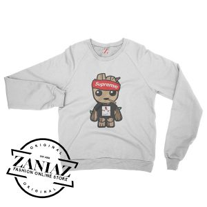 SUPREME Baby Groot Gucci Mane Sweatshirt Crewneck Size S-3XL