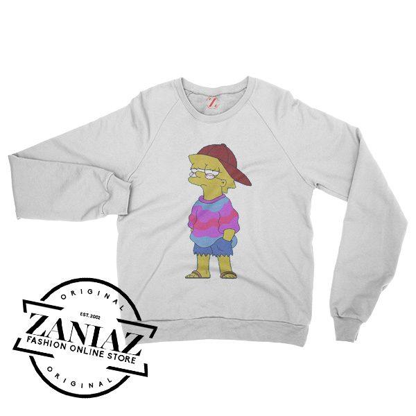 Simpsons Sweatshirt Cheap Women's or Men's Crewneck Size S-3XL