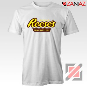 Reeses Peanut Butter Cups White Tshirt Hershey Cheap Tshirt Clothes