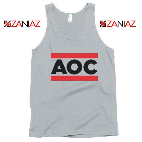 Alexandria Ocasio Cortez Tank Top Gift Feminis Cheap Tank Top Grey