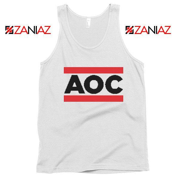 Alexandria Ocasio Cortez Tank Top Gift Feminis Cheap Tank Top White