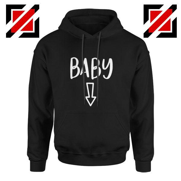 Baby Belly Hoodie Cheap Pregnancy Hoodie Funny Gift Hoodies Unisex Black