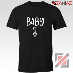 Baby Belly Shirt Cheap Clothes Shop Funny Quotes T-shirt Black