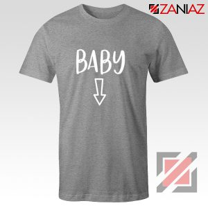 Baby Belly Shirt Cheap Clothes Shop Funny Quotes T-shirt Sport Grey