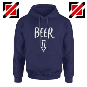 Beer Belly Hoodie Cheap Hoodie Funny Gift Hoodies Unisex Navy Blue