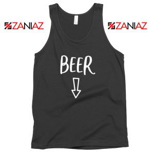 Beer Belly Tank Top Funny Gift Cheap Man Woman Tank Top Black