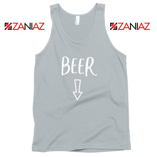 Beer Belly Tank Top Funny Gift Cheap Man Woman Tank Top Sport Grey
