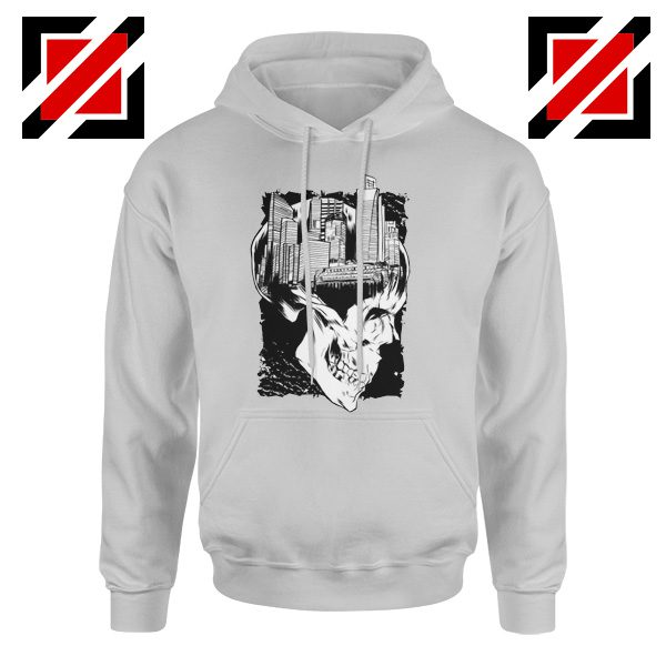 Conan The City of Skulls Hoodie Funny Gift Hoodies Unisex Grey