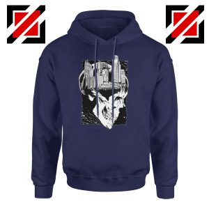 Conan The City of Skulls Hoodie Funny Gift Hoodies Unisex Navy Blue