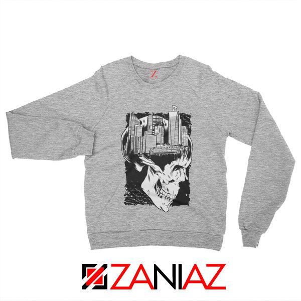 Conan The City of Skulls Sweatshirt Gift Sweater Size S-3XL Sport Grey