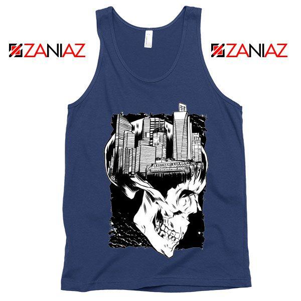 Conan The City of Skulls Tank Top Funny Gift Cheap Tank Top Navy Blue