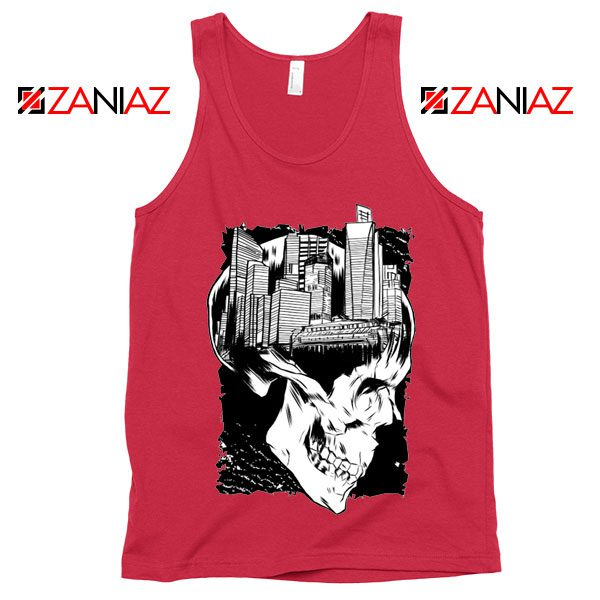 Conan The City of Skulls Tank Top Funny Gift Cheap Tank Top Red
