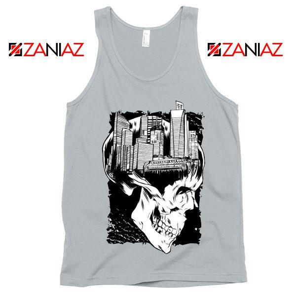 Conan The City of Skulls Tank Top Funny Gift Cheap Tank Top White