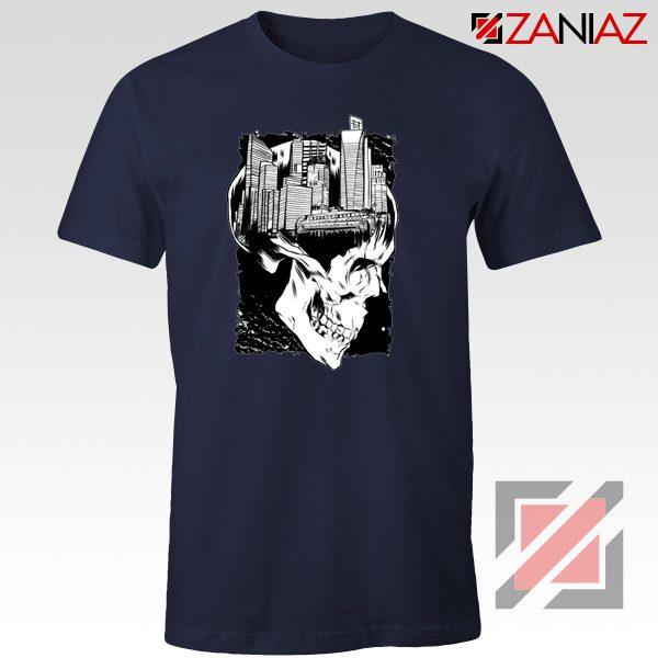 Conan The City of Skulls Tshirt Funny Cheap Tshirt Clothes Navy Blue