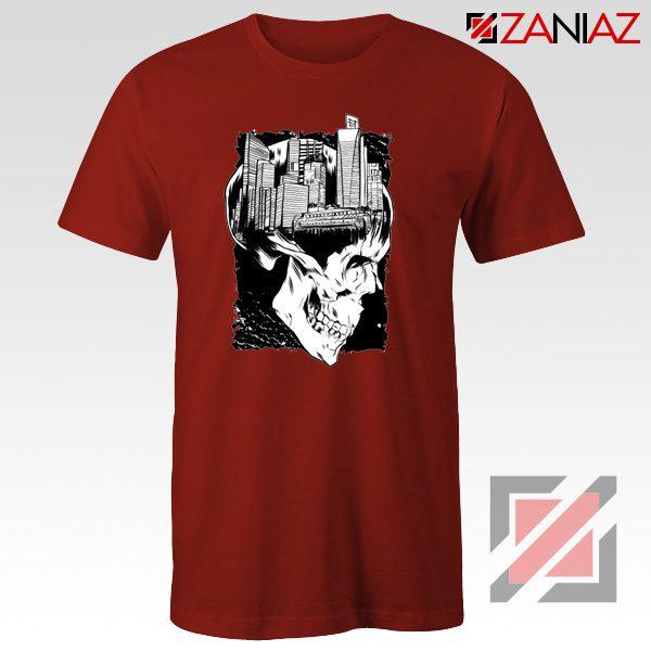 Conan The City of Skulls Tshirt Funny Cheap Tshirt Clothes Red