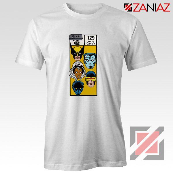 Marvel X Men Shirt Cheap Clothes Comic Book 129 Jan T-shirt White