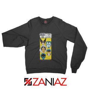 Marvel X Men Sweatshirt Marvel Comic 129 Jan Sweater Size S-3XL Black