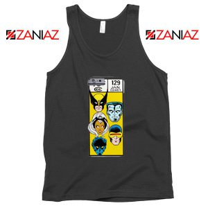 Marvel X Men Tank Top Funny Cheap Comic Book 129 Jan Tank Top Black