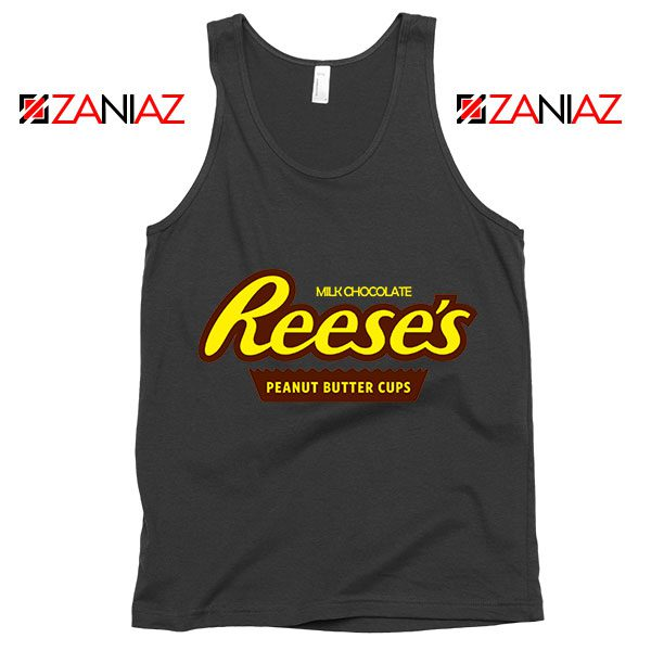 Reeses Peanut Butter Cups Tank Top Reeses Logo Tank Top