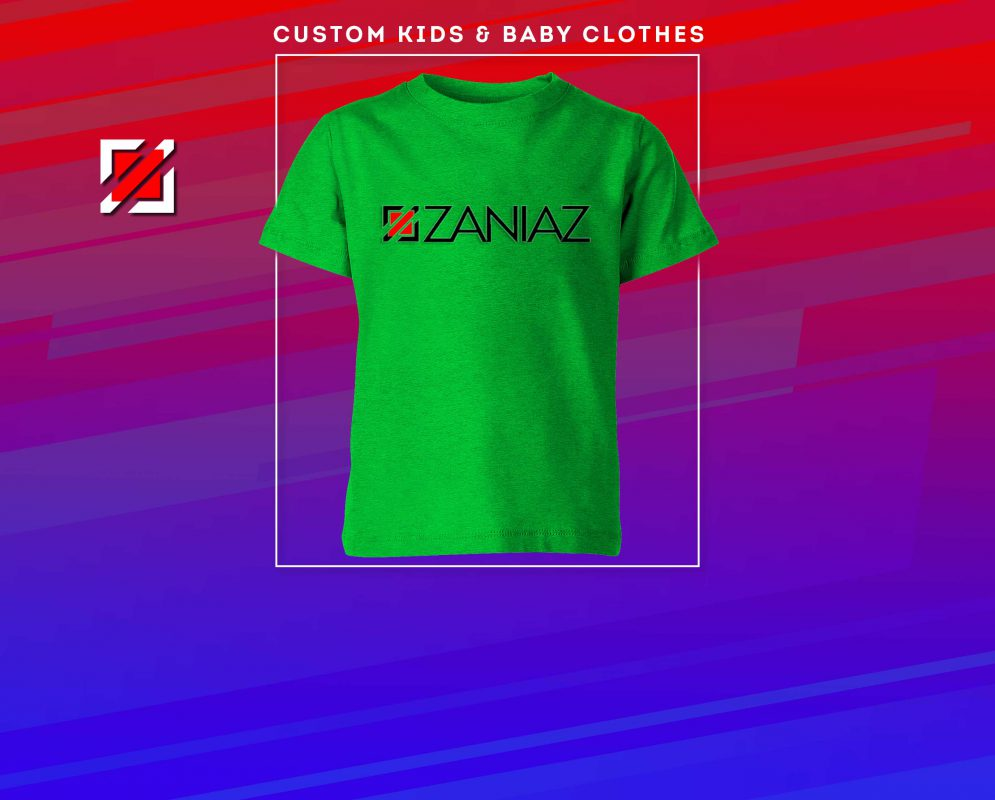 ZANIAZ Banner Kids Clothes