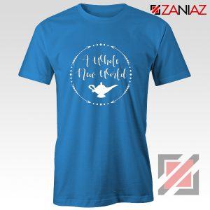 A Whole New World Disney T-Shirt Aladdin Jasmine Cheap Shirt Red
