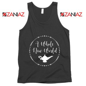 A Whole New World Disney Tank Top Aladdin Jasmine Tank Top Black