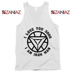 Avengers Endgame Tony Stark Quotes Tank Top Birthday Gift White