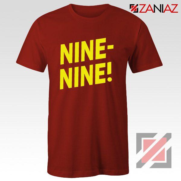 Brooklyn Nine Nine T Shirts American Television Show Shirt Red