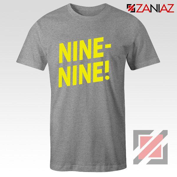 Brooklyn Nine Nine T Shirts American Television Show Shirt Sport Grey