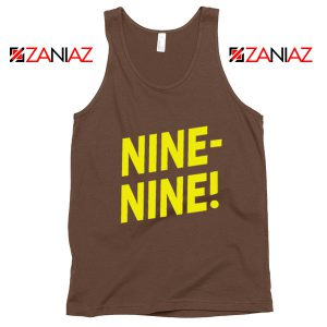 Brooklyn Nine Nine Tank Top American Television Show Tank Top Brown