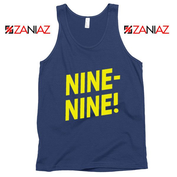 Brooklyn Nine Nine Tank Top American Television Show Tank Top Navy