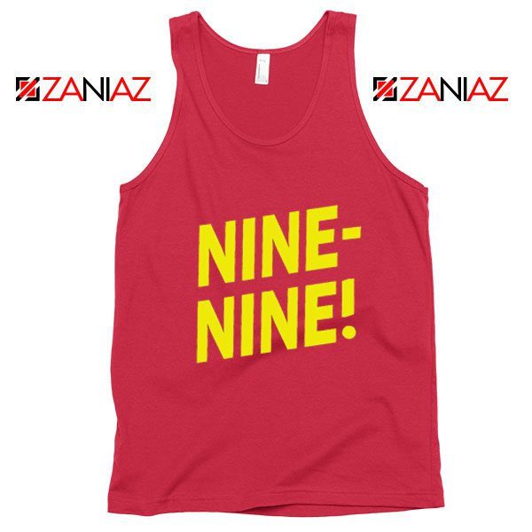 Brooklyn Nine Nine Tank Top American Television Show Tank Top Red