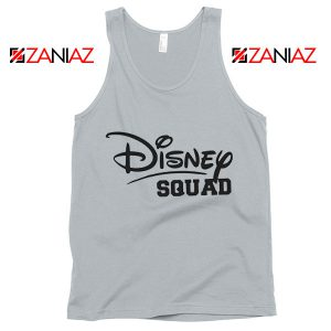 Cheap Disney Squad Tank Top Birthday Gift Summer Tank Top New Silver