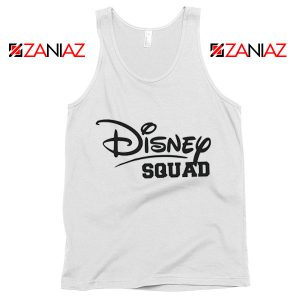 Cheap Disney Squad Tank Top Birthday Gift Summer Tank Top White