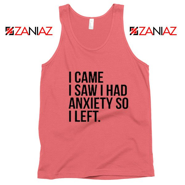 Cute Quotes Tank Top Womens Funny Cheap Tank Top Coral