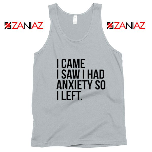 Cute Quotes Tank Top Womens Funny Cheap Tank Top New Silver