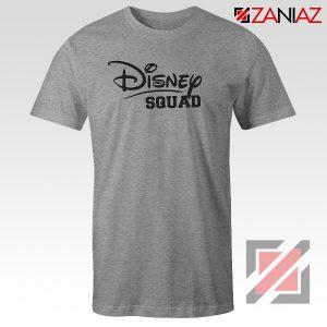 Disney Squad Shirt Gift Disney T Shirts Cheap for Women Grey