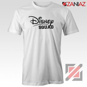 Disney Squad Shirt Gift Disney T Shirts Cheap for Women White