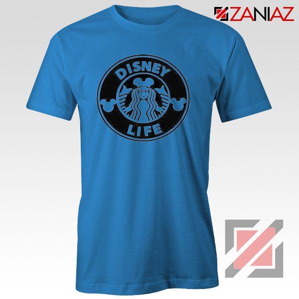 Disney Starbucks Inspired T Shirts Womens Disney Shirt Blue