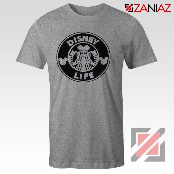 Disney Starbucks Inspired T Shirts Womens Disney Shirt Sport Grey