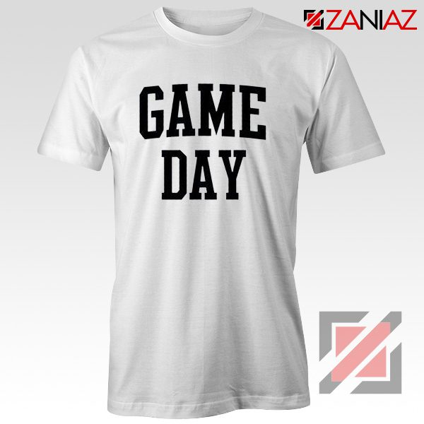 Football Shirt Gift Game Day T-Shirt Women's Football Shirt White
