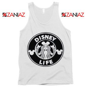 Funny Disney Starbucks Tank Top Summer Birthday Gift Tank Top White
